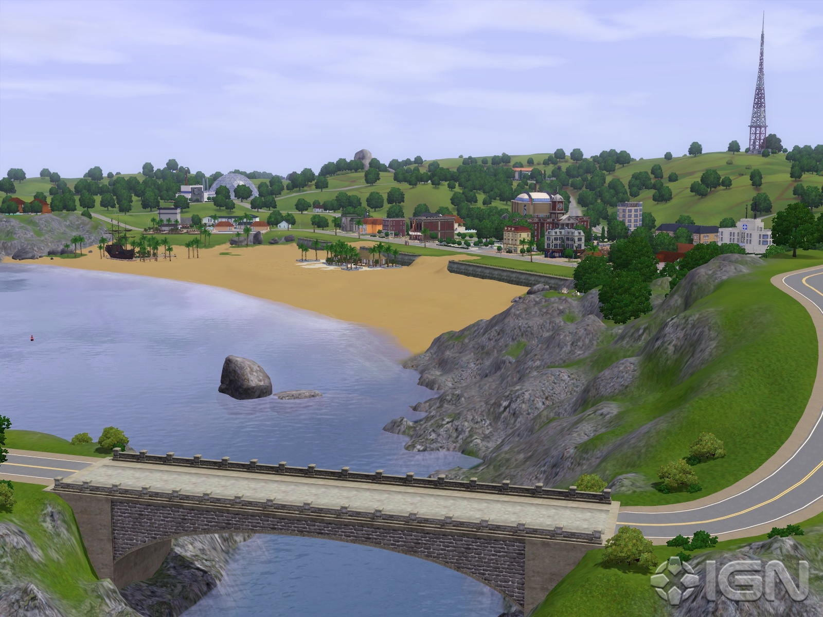 Sims 3 Cri @ - The Sims 3 game fansite | Barnacle Bay: live preview ...
