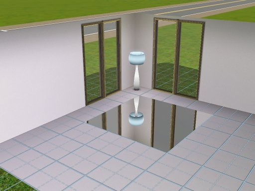 Sims 3 Cri @ - The Sims 3 game fansite | Mirror and transparent floor!