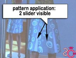 Pattern application