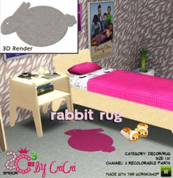 sims3cri_obj_cri_decor_rug_rabbit